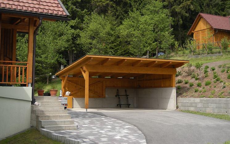 Carport fai da te arredo giardino tettoia posto auto for Telo multiuso per auto