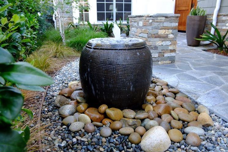 fontane da giardino fai da te arredo giardino consigli