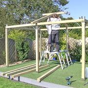 Gazebo fai da te arredo giardino come costruire un for Costruire un gazebo in ferro