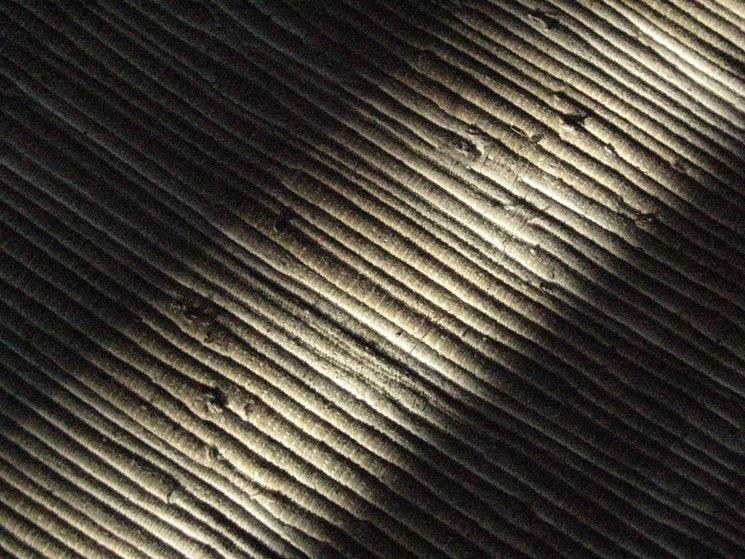 Texture di un tappeto da esterno