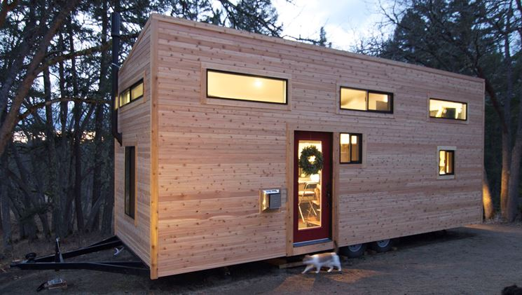 Casa mobile per l'inverno