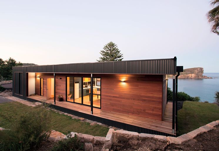 casa passiva prefabbricata casette in legno