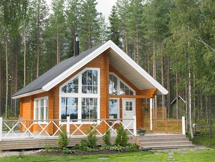 Casetta legno lamellare