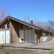 Esempio casa in legno lamellare