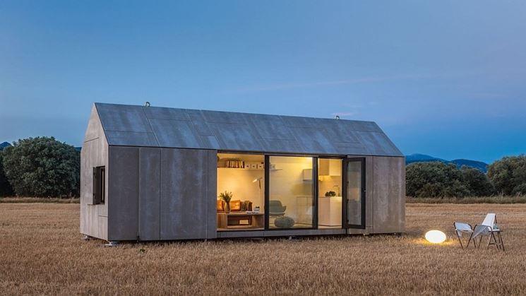 case prefabbricate in cemento casette in legno vari