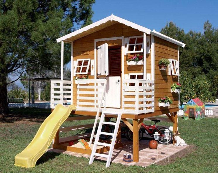 Casetta legno bambini