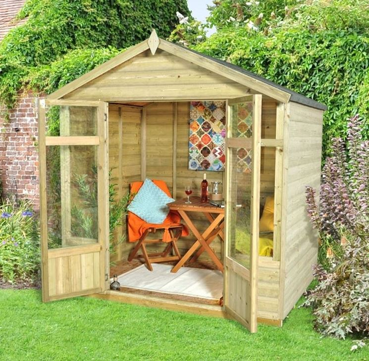 Casette in legno da giardino casette in legno casette for Planimetrie semplici della casetta di legno