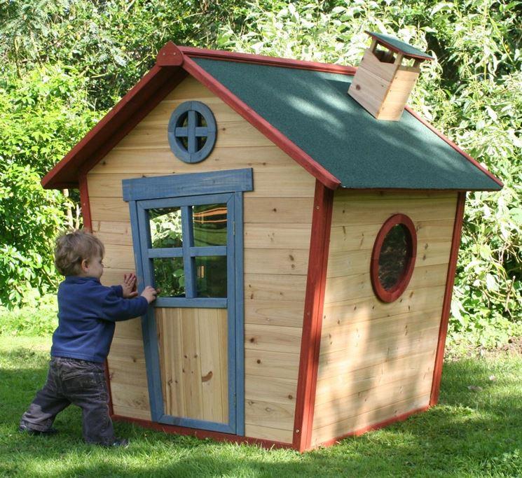 Esempio di casetta in legno