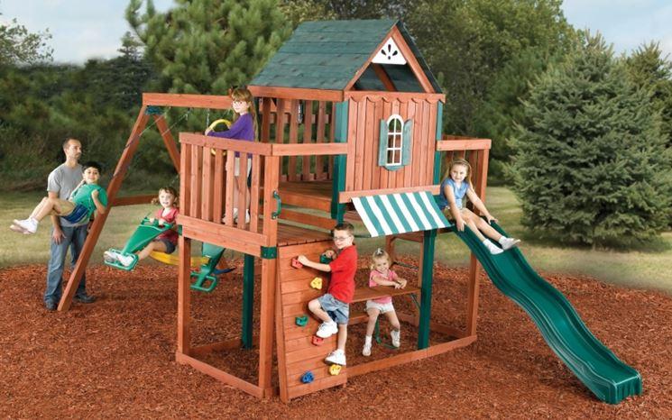 Casette Per Bambini Piccoli : Casette in legno per bambini greenhouse