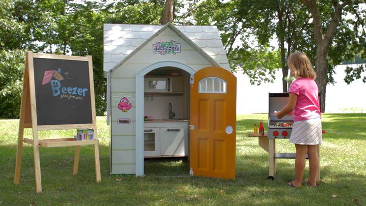 Casette per bambini casette in legno idee per una casetta per bambini - Casette per bambini da giardino ...