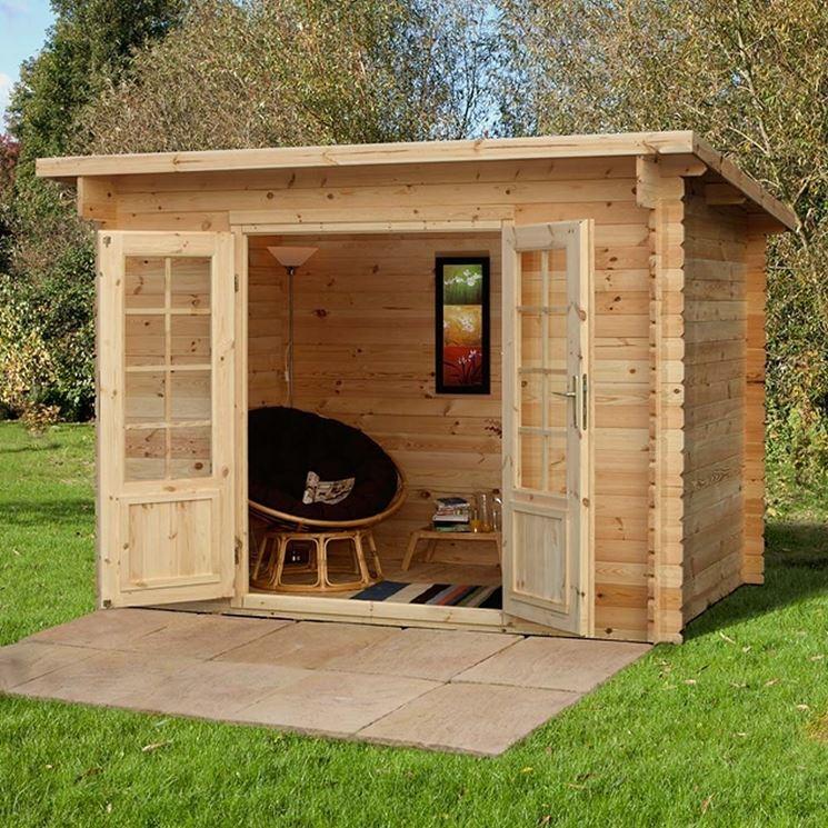 Casette casette in legno caratteristiche casette - Case di legno da giardino ...