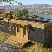 Chalet in legno prefabbricati casette in legno casetta for Comprare casa prefabbricata