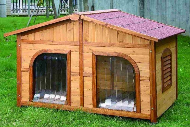 Cucce per cani da esterno casette in legno cucce cani for Cancelletti per cani da esterno