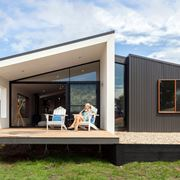 Villa prefabbricata minimalista