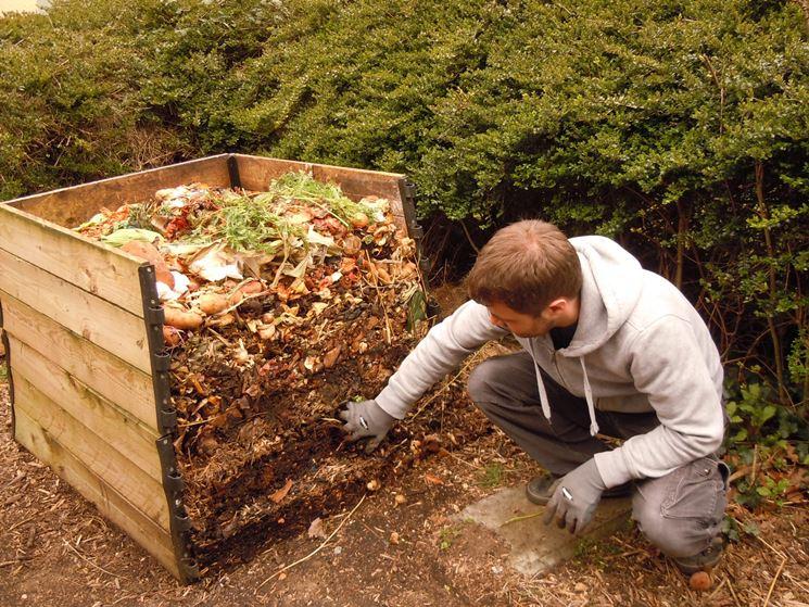 Deposito con funzione di compostaggio