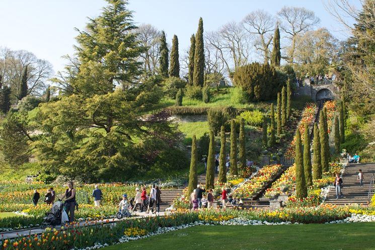 Gradini design giardinaggio gradini design ornamento - Scale per giardini ...