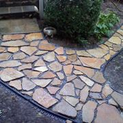 Vialetto pietra mosaico