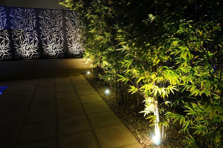 Faretti da giardino lampade da giardino come scegliere i