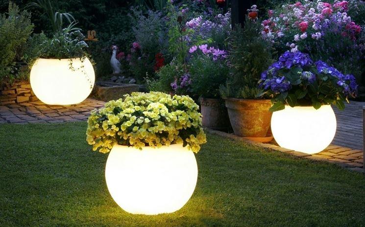Illuminare giardino