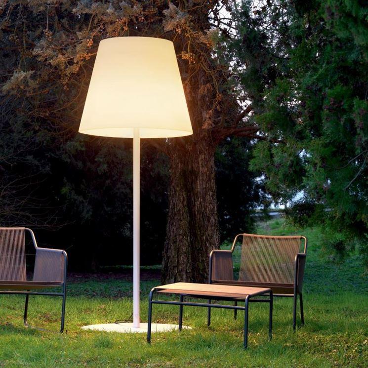 Illuminazione da esterno lampade da giardino lampade - Lampade da giardino da terra ...