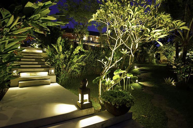 Illuminazione per esterni lampade da giardino luci giardino