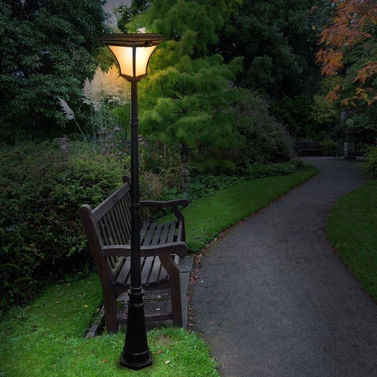 Lampioni da giardino lampade da giardino lampade esterno - Lampioni da esterno moderni ...