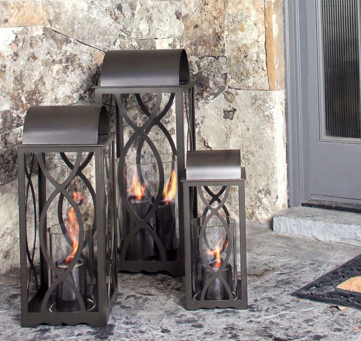 lanterne da esterno in ferro