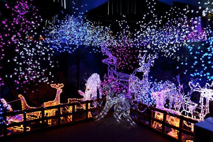 Decorazioni Natalizie Da Esterno.Luci Di Natale Da Esterno Lampade Da Giardino Luci Natalizie Per