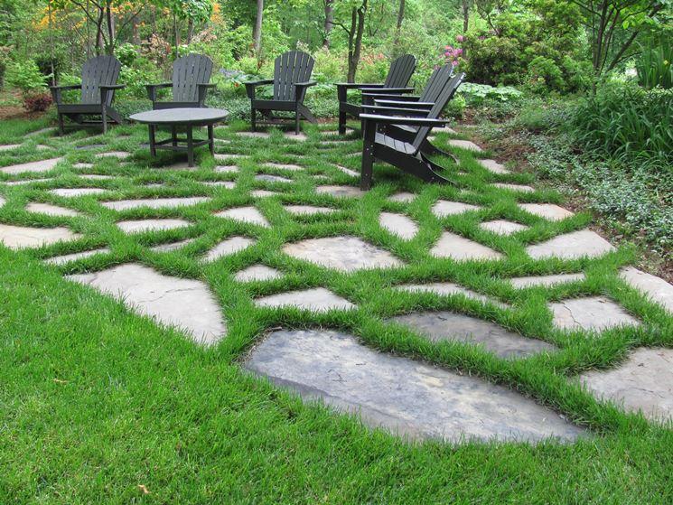 Pietre per giardino materiali per giardinaggio for Pietre da giardino