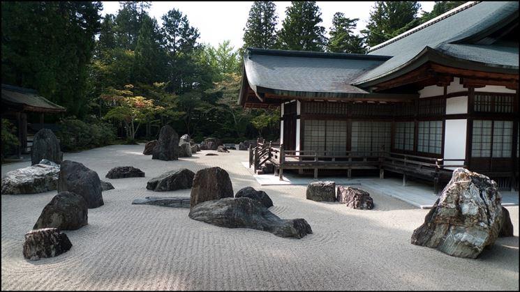 Esempio giardino giapponese