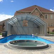 Copertura telescopica per piscina