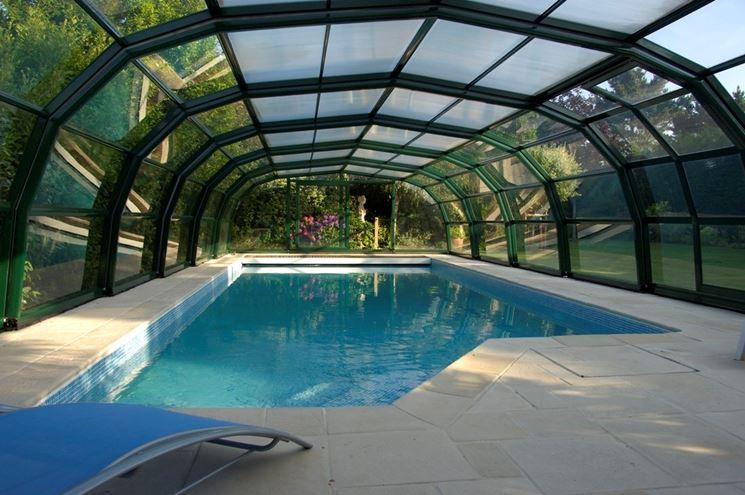 Coperture telescopiche per piscine piscine da giardino come scegliere una copertura - Piscine interrate prezzi ...