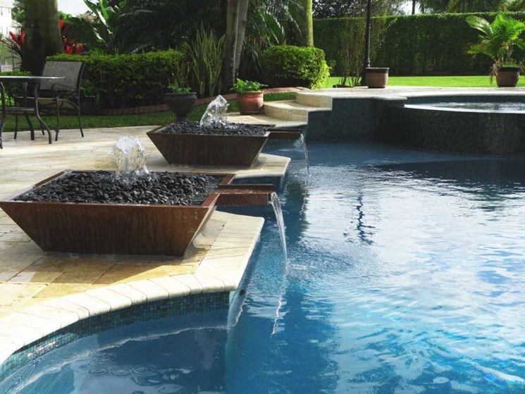 La piscina piscine da giardino piscina in giardino - Piscine gonfiabili da giardino ...