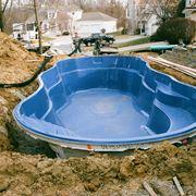 Interramento di una piscina