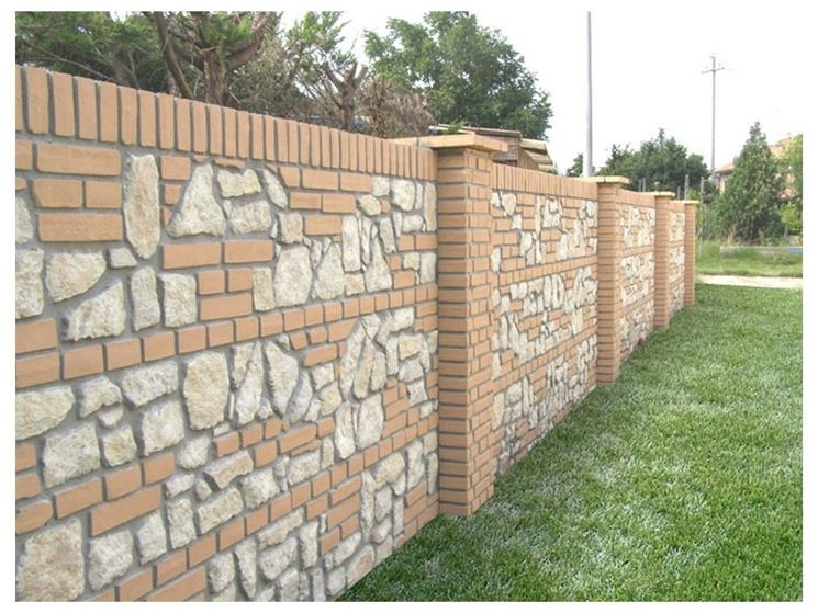 Recinzioni in muratura recinzioni casa recinzioni muratura - Recinzioni per giardini ...