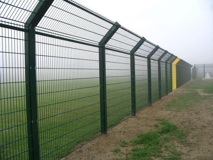 Rete per recinzione recinzioni casa tipologie di rete - Recinzioni per giardini ...