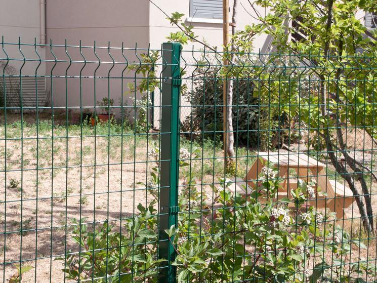 Rete recinzione recinzioni casa tipologie di reti - Recinzioni per giardini ...