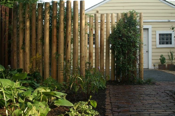 Divisorio da giardino classico