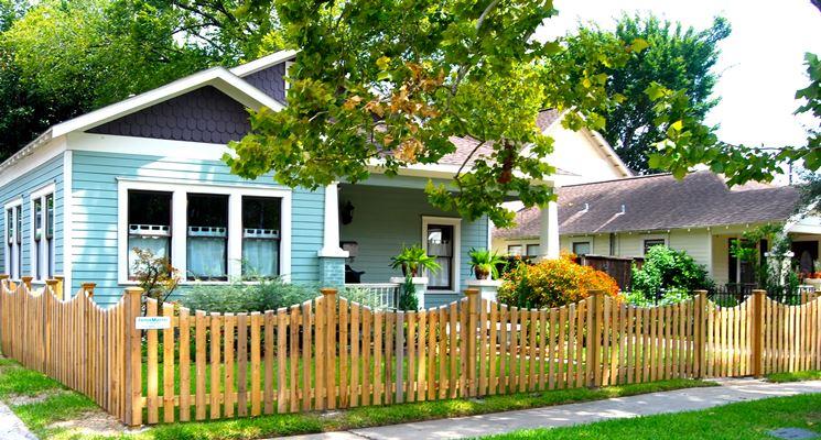 Staccionate in legno fai da te recinzioni casa - Recinti per giardino ...