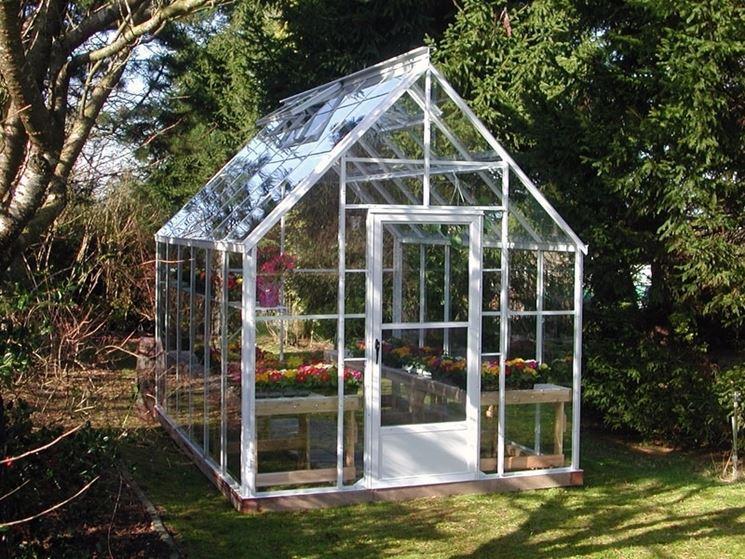 Serra in vetro serre per orto modello serra - Serre da giardino usate ...