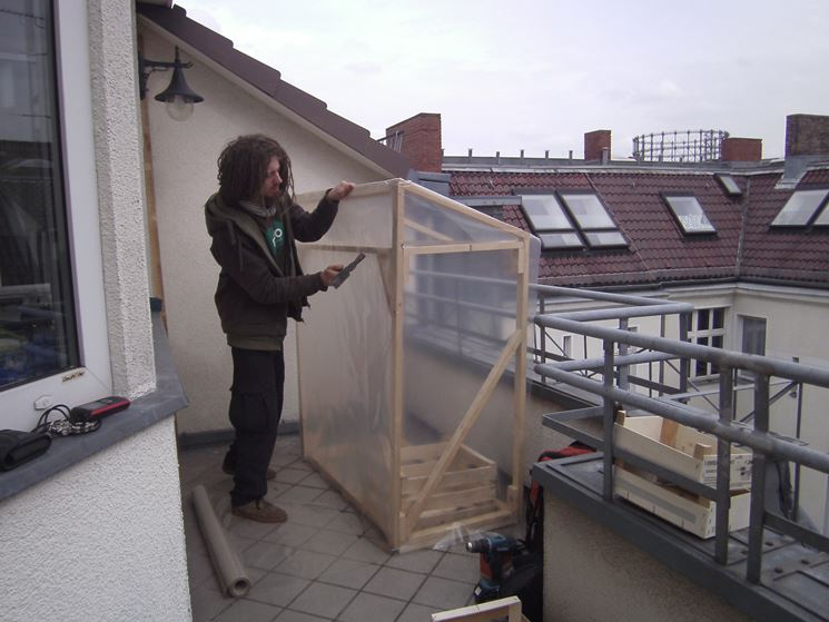 Serra per terrazzo - serre per orto - Tipologie serra