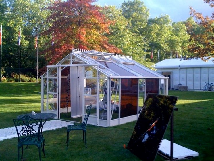 serra solare da giardino