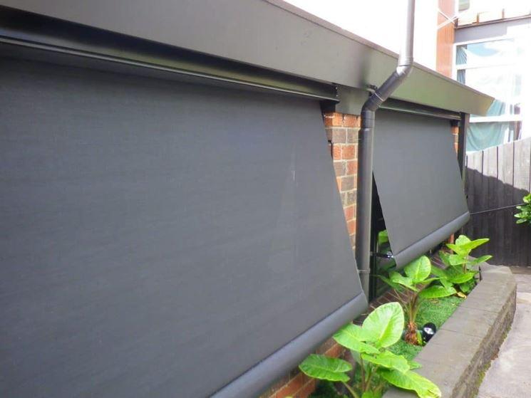 Tende da esterno impermeabili tende da sole tende sole for Opzioni materiale esterno casa