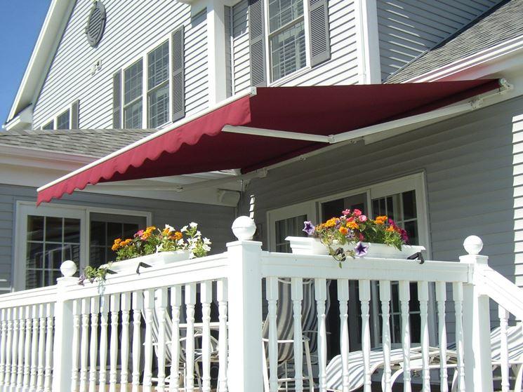 Tenda da sole per balconi a braccia