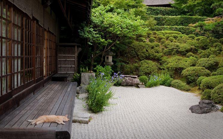 Grande giardino giapponese