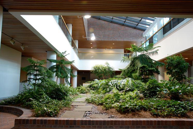 Giardini interni tipi di giardini progettazione giardino - Giardino interno casa ...