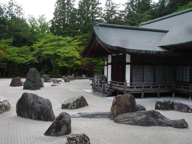 Realizzazione di un giardino zen