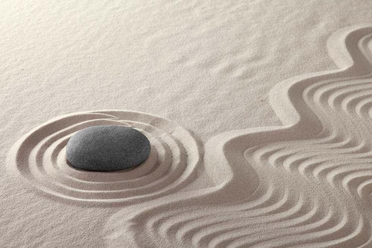 Giardino zen secco