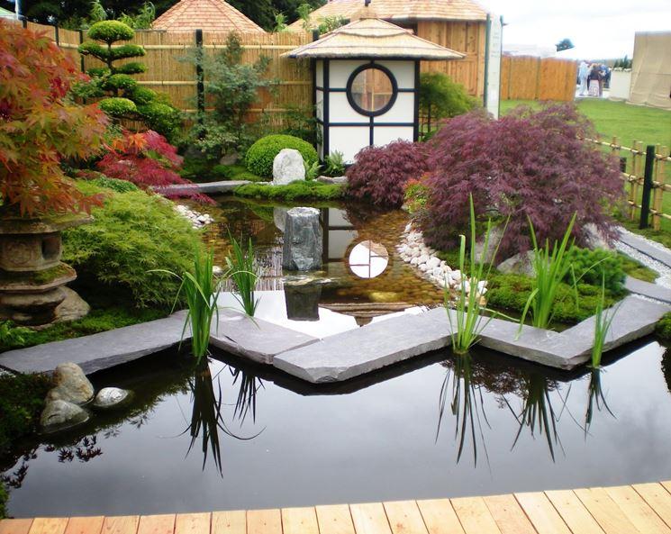 Elementi del giardino giapponese