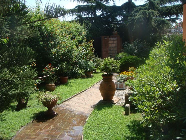 Progettare giardini tipi di giardini come progettare - Tipi di giardino ...